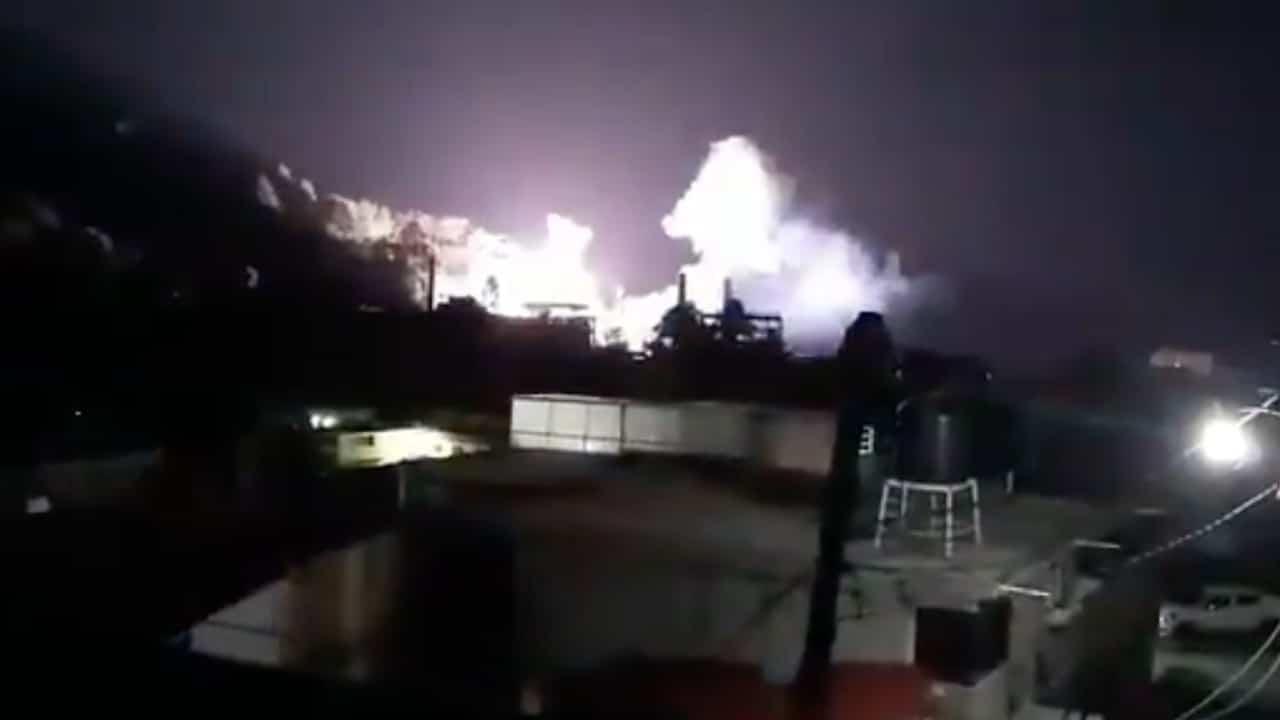 Se registra explosión en fábrica de papel San Rafael en Tlalmanalco, Edomex