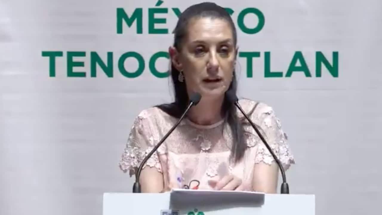La jefa de Gobierno de la Ciudad de México, Claudia Sheinbaum (Twitter: @Claudiashein)