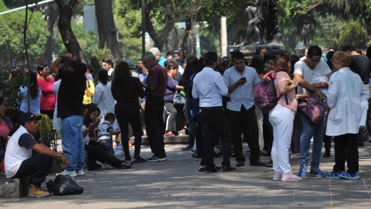 Dos sismos sacuden a México la mañana de hoy sábado 31 de julio