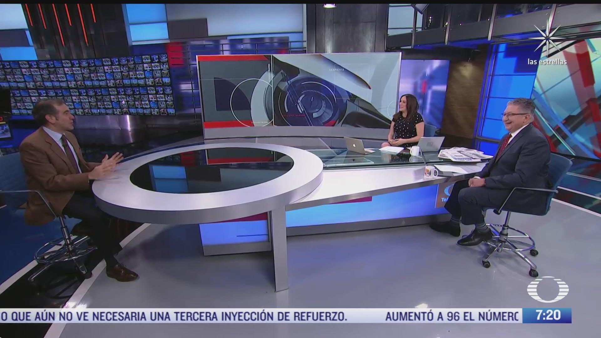 Entrevista con Lorenzo Córdova, consejero presidente del INE, para Despierta