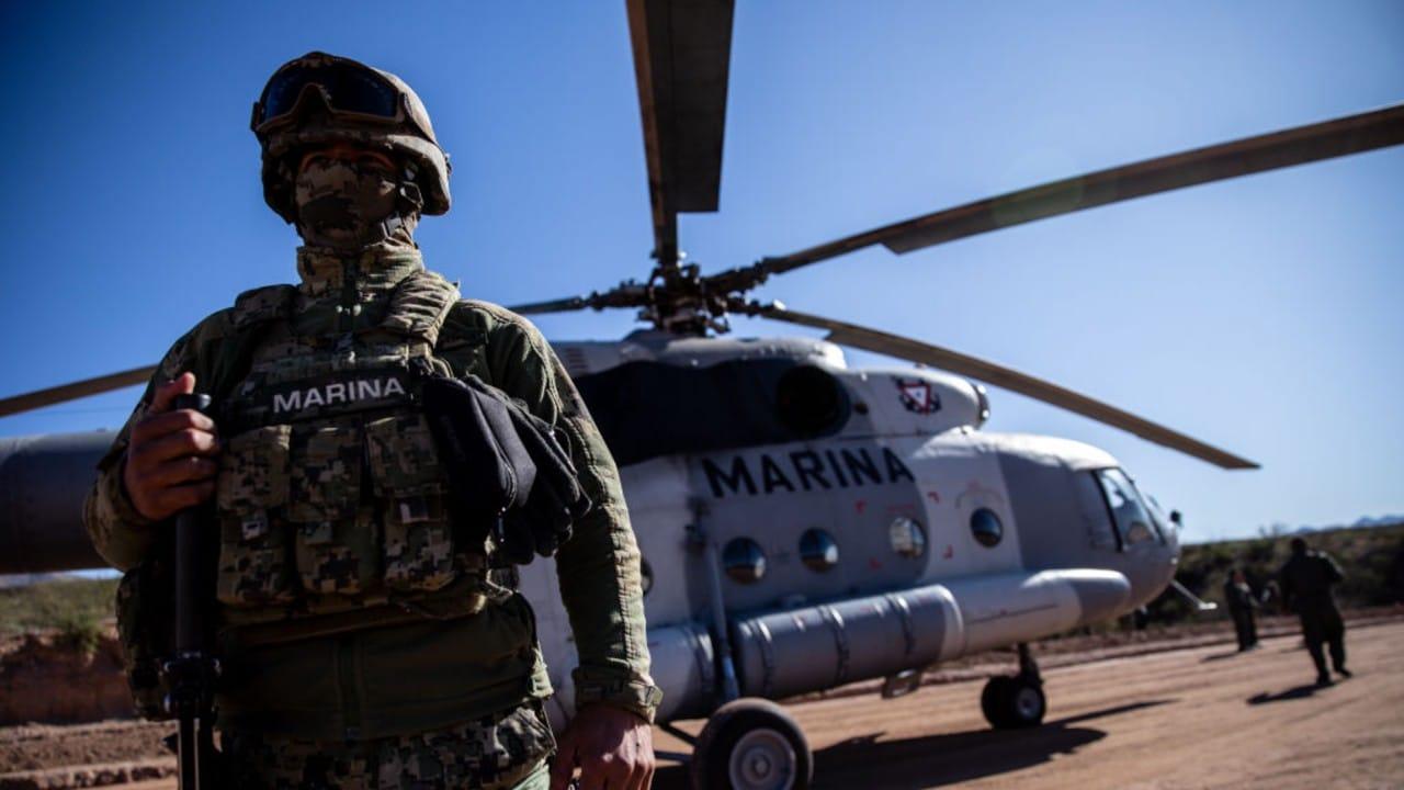 Soldado de la Secretaría de Marina