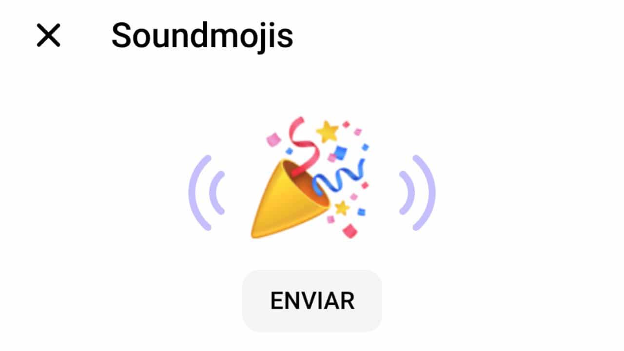 Soundmoji, Fonoticonos, emojis, Facebook, Messenger