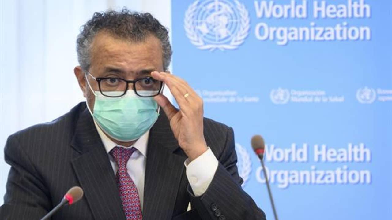 Tedros Adhanom Ghebreyesus. director de la OMS