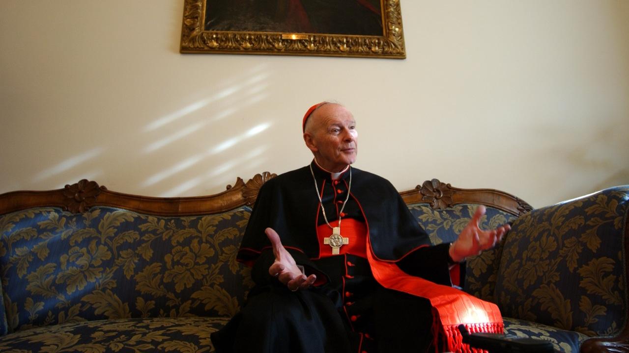 Fotografía del excardenal Theodore McCarrick, expulsado del sacerdocio en 2019