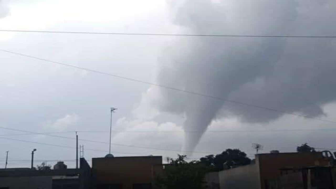 Video: Torbellino sorprende en Reynosa, Tamaulipas
