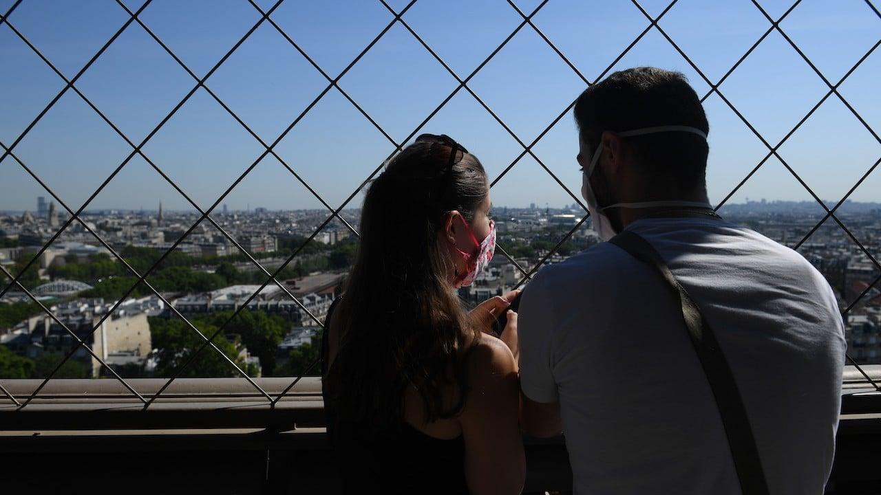 Vista de París desde la cima de la Torre Eiffel (Getty Images) Vista de París desde la cima de la Torre Eiffel (Getty Images)
