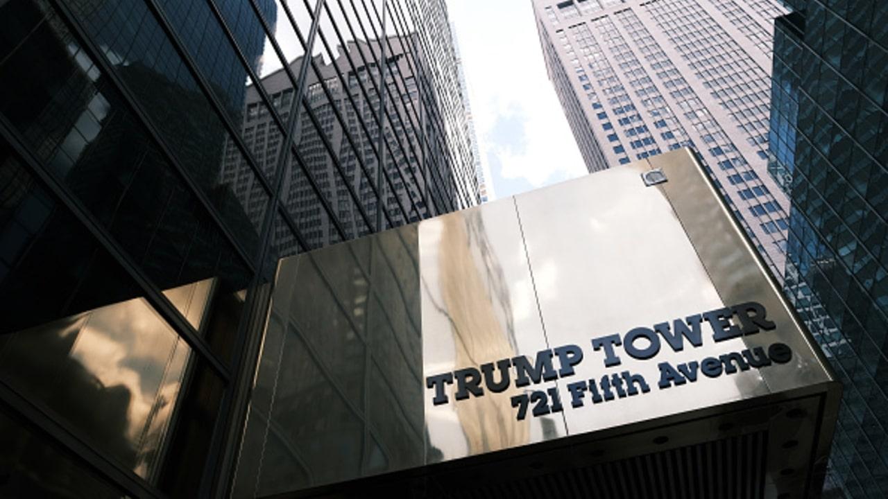 Fotografía de la Trump Tower, sede de la Organización Trump