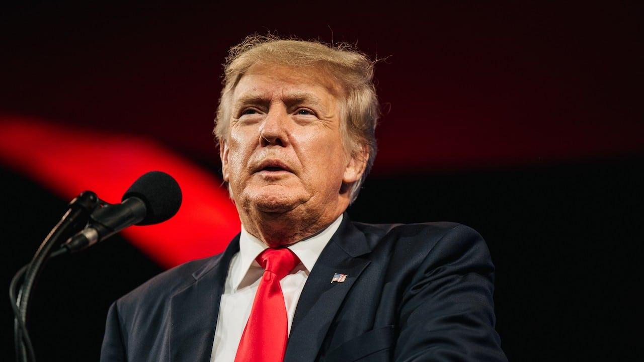 El expresidente de Estados Unidos, Donald Trump (Getty Images)