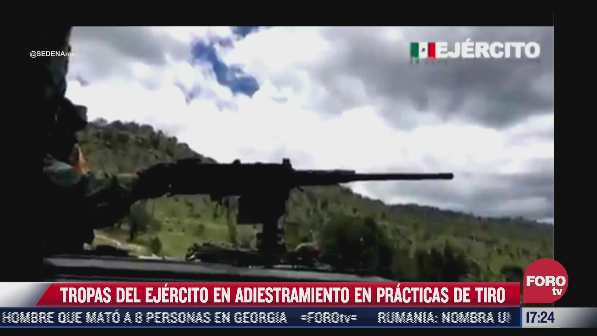 video asi es el adiestramiento de tropas del ejercito mexicano