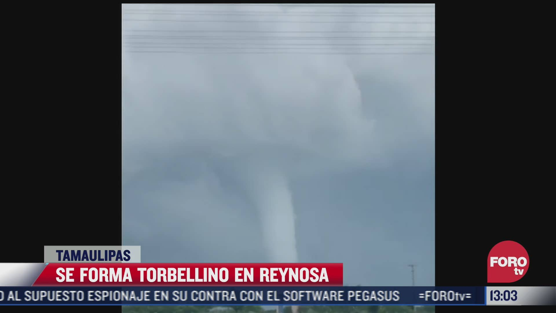video graban torbellino que se formo en tamaulipas