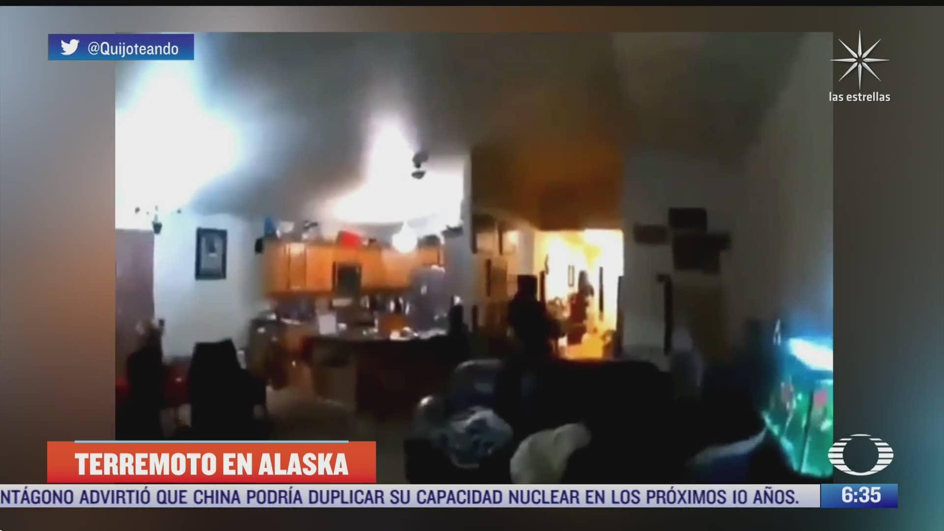 video potente terremoto magnitud 8 2 sacude alaska