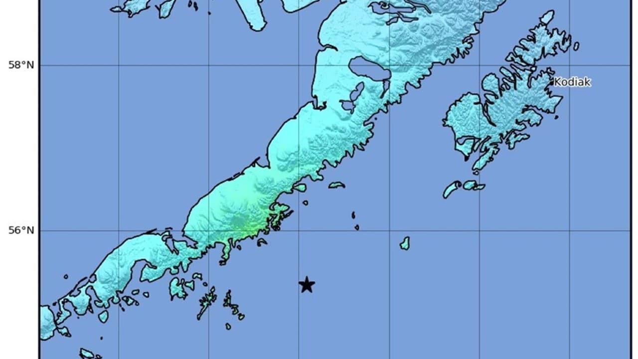 Video: Así se vivió el potente sismo magnitud 8.2 que sacudió Alaska