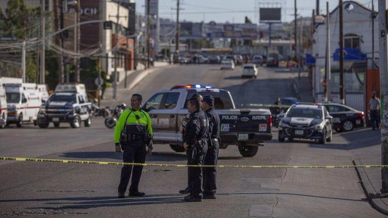 Un grupo de sujetos dispararon en contra de una unidad de la Policía Municipal de Tijuana (Cuartoscuro)