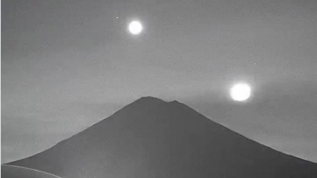 volcán Popocatépetl, Luna, Venus, Marte, captura de pantalla