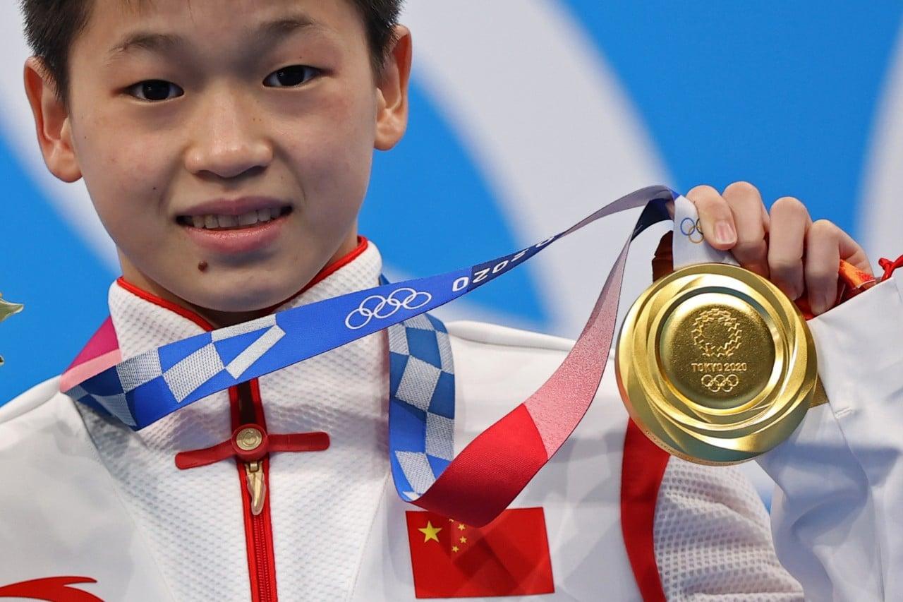 Clavadista china dedicó la medalla de oro a su madre enferma