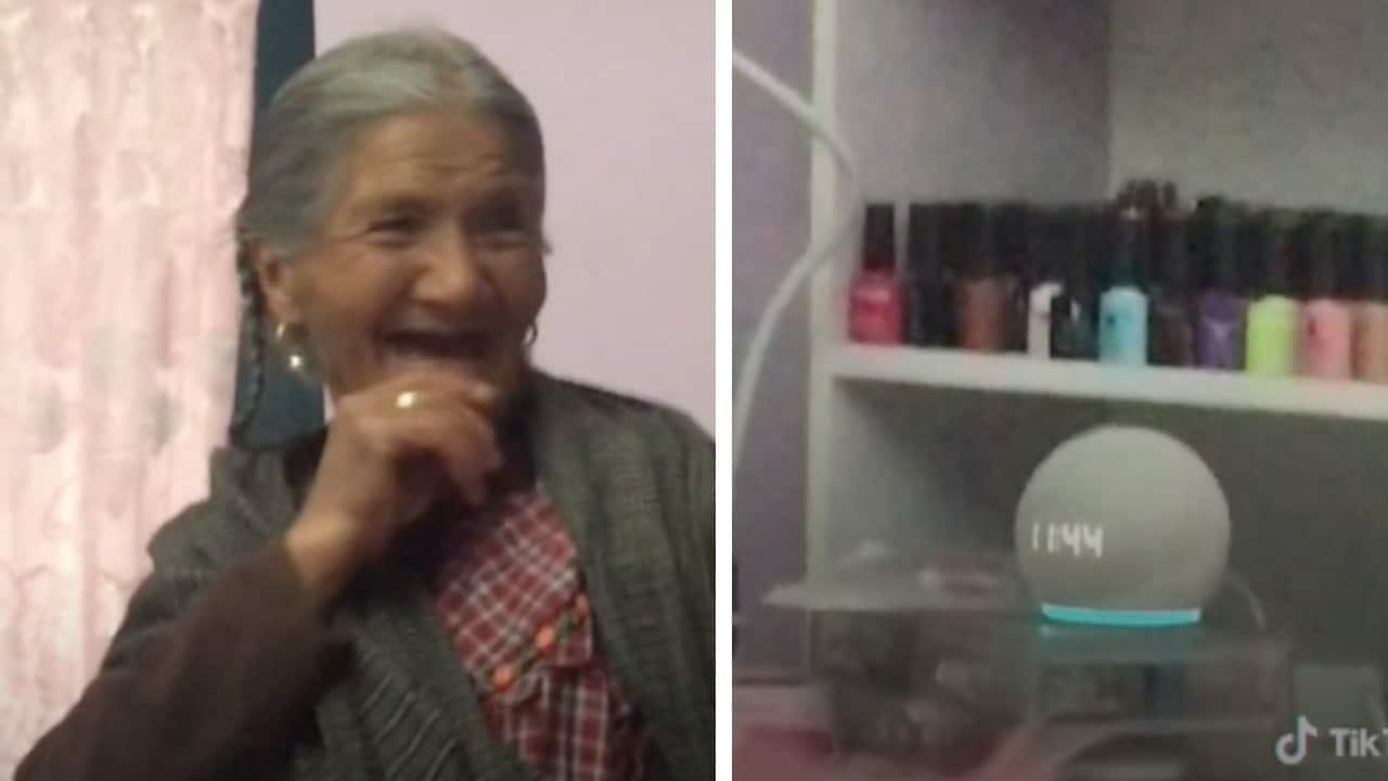 Abuelita le pide a Alexa rezar el Santo Rosario y se vuelve viral