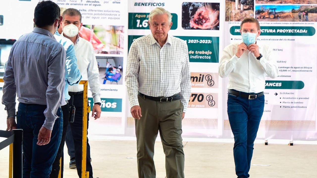 """A consulta el plan """"Agua Saludable"""" para La Laguna, anuncia AMLO"""