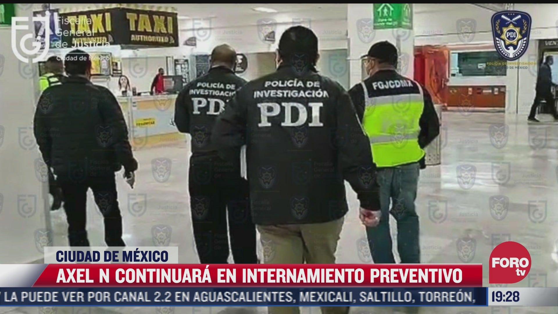 amplian plazo para cierre investigacion de axel n acusado de trata de personas y violacion equiparada