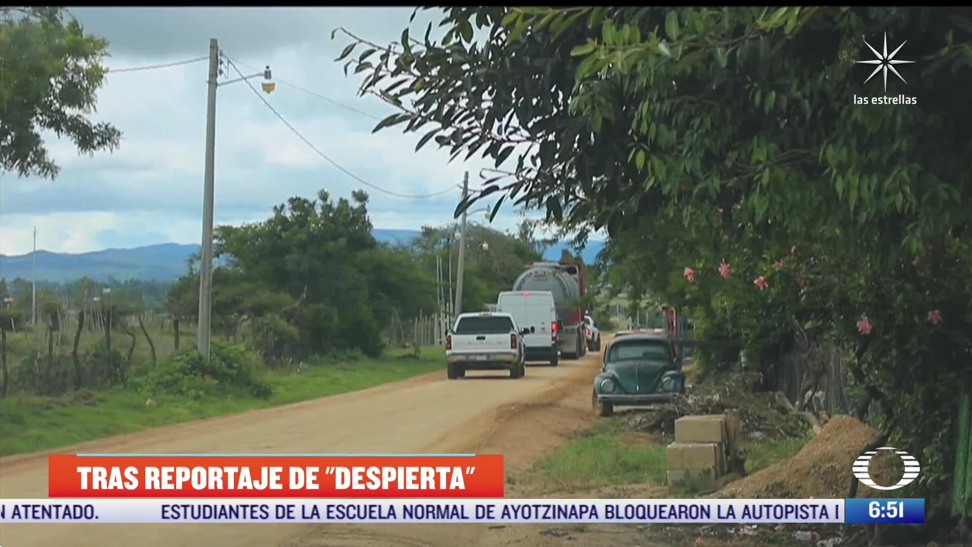 Aseguran pipa que transportaba diesel de contrabando, tras denuncia de Despierta