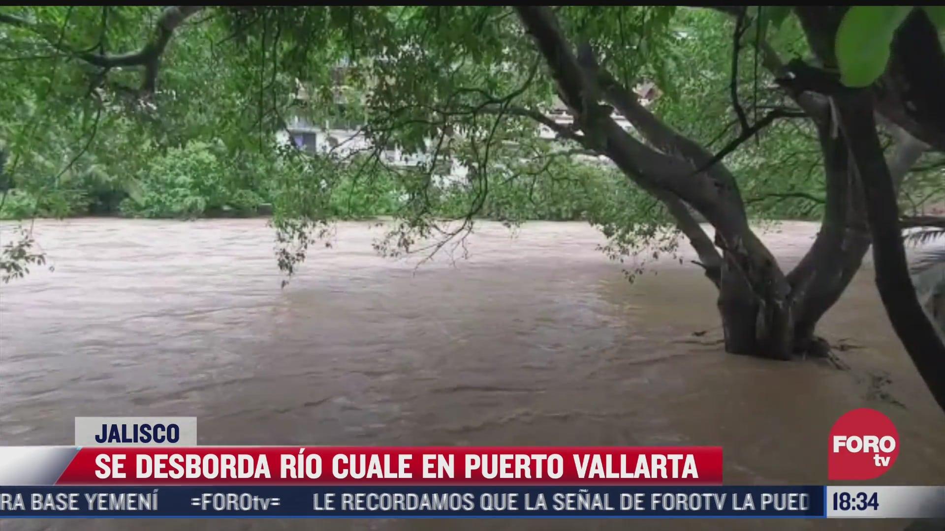asi fueron los danos del huracan nora en puerto vallarta