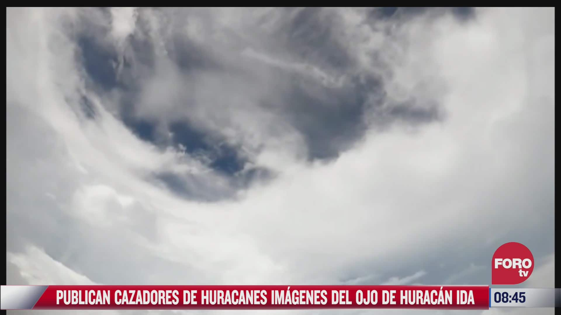asi se ve el potente huracan ida desde el espacio