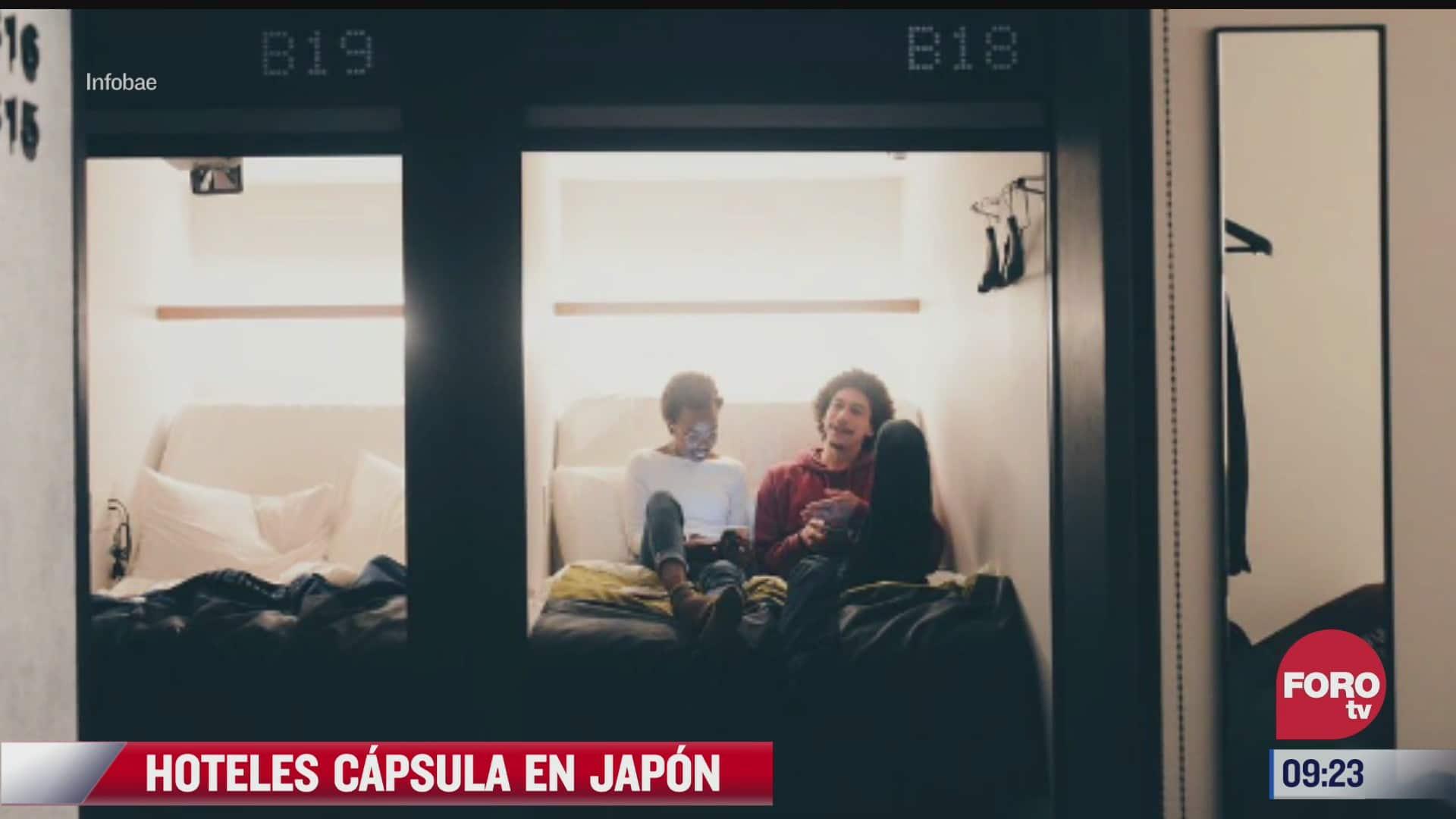 asi son los hoteles capsula en japon
