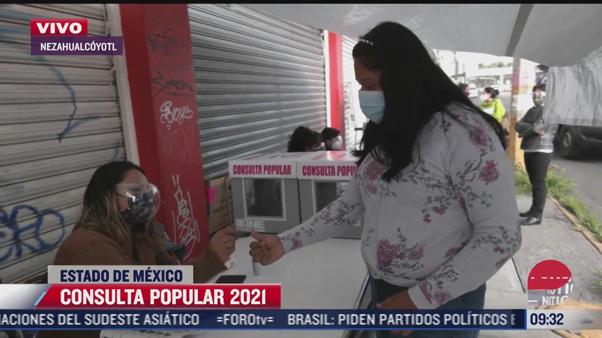 asi transcurre la consulta popular 2021 en nezahualcoyotl