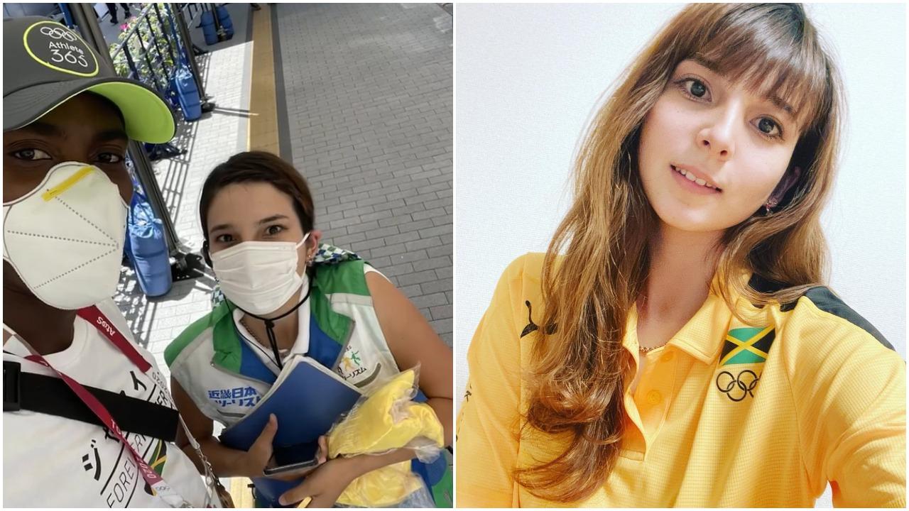 El atleta Hansle Parchment logró ganar oro en Tokio 2020 por ayuda de voluntaria