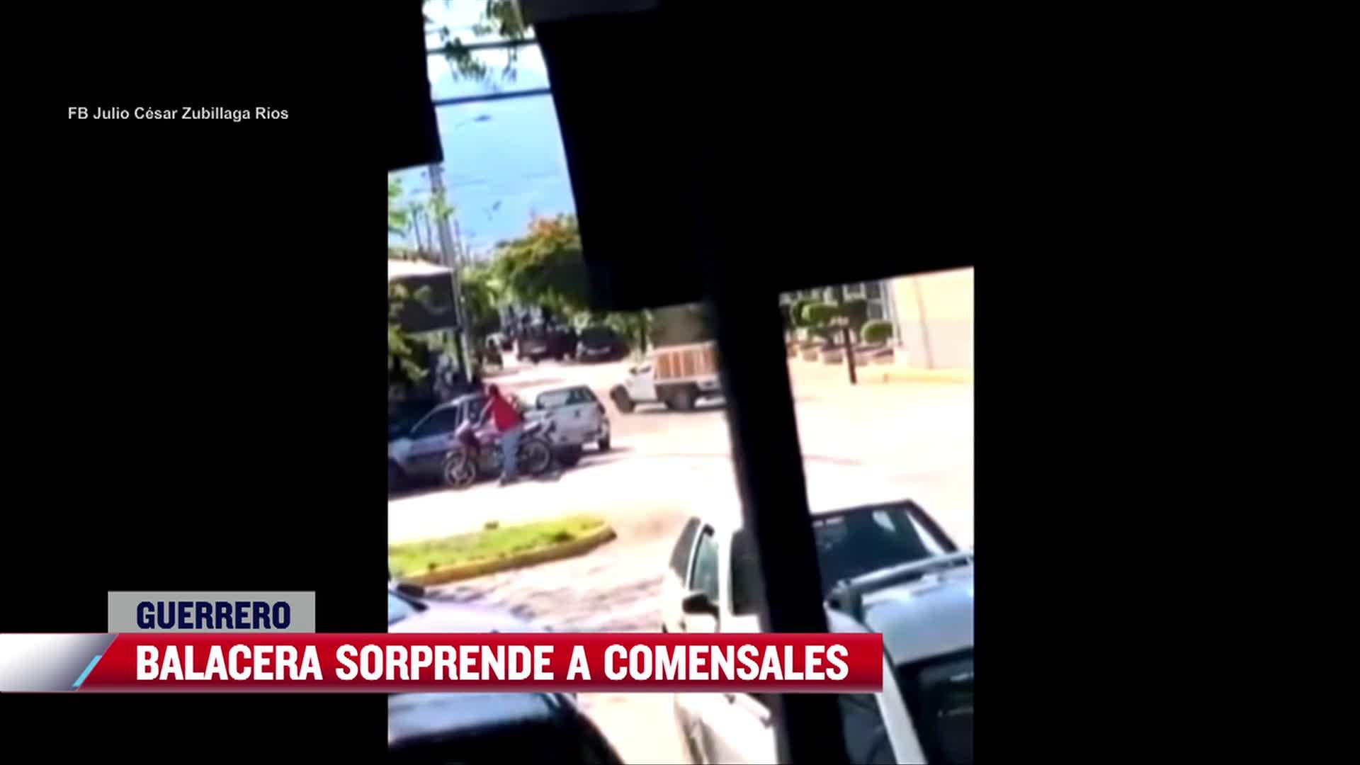Balacera sorprende a comensales en restaurante de Iguala, Guerrero