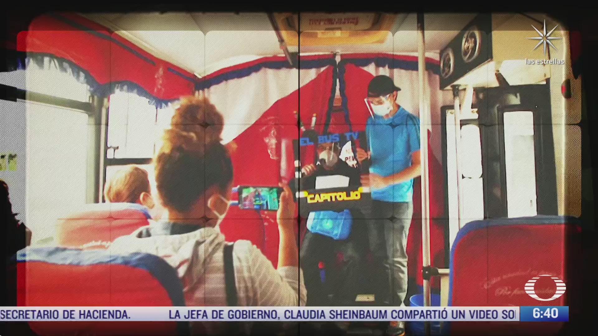 bus tv proyecto creado por periodistas de venezuela ante la censura
