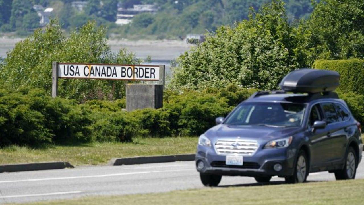 Frontera entre Estados Unidos y Canadá (AP)