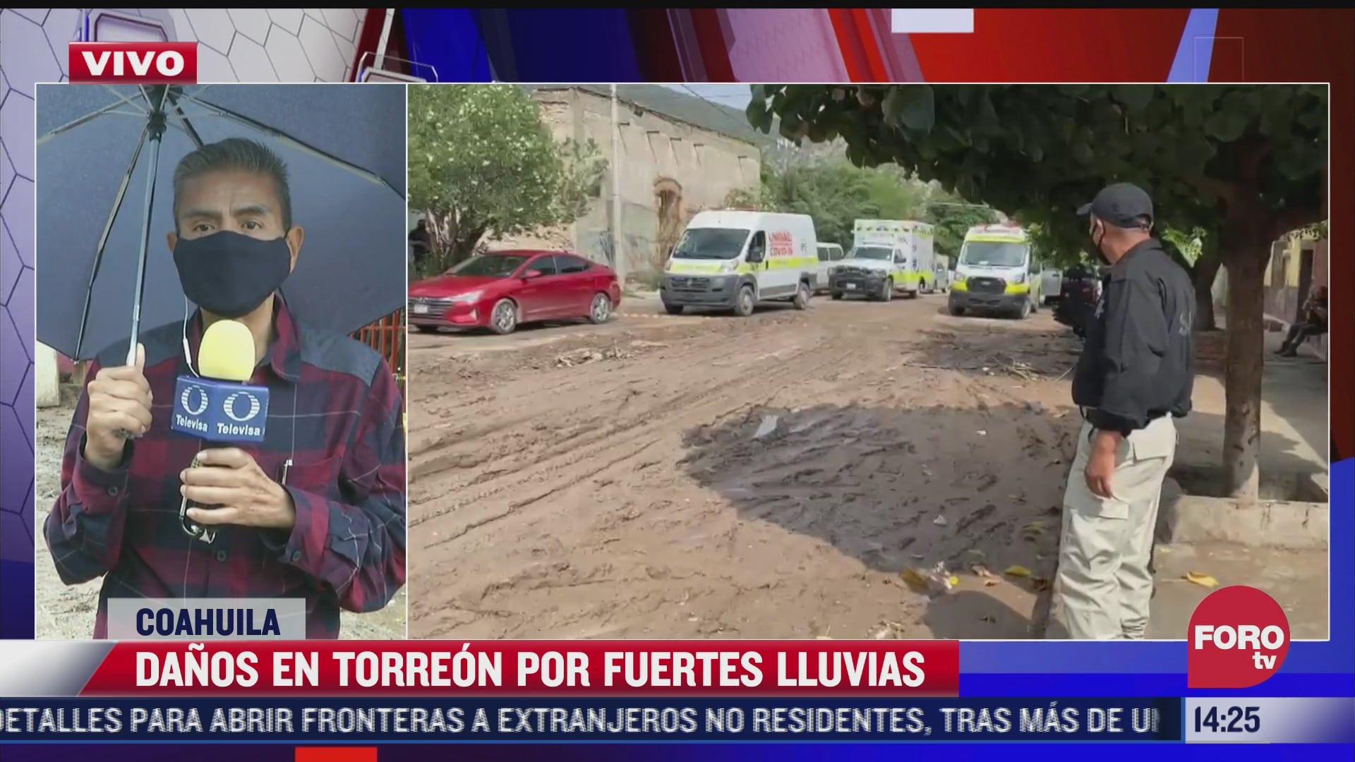 cerca de 30 familias perdieron su patrimonio por las lluvias en torreon