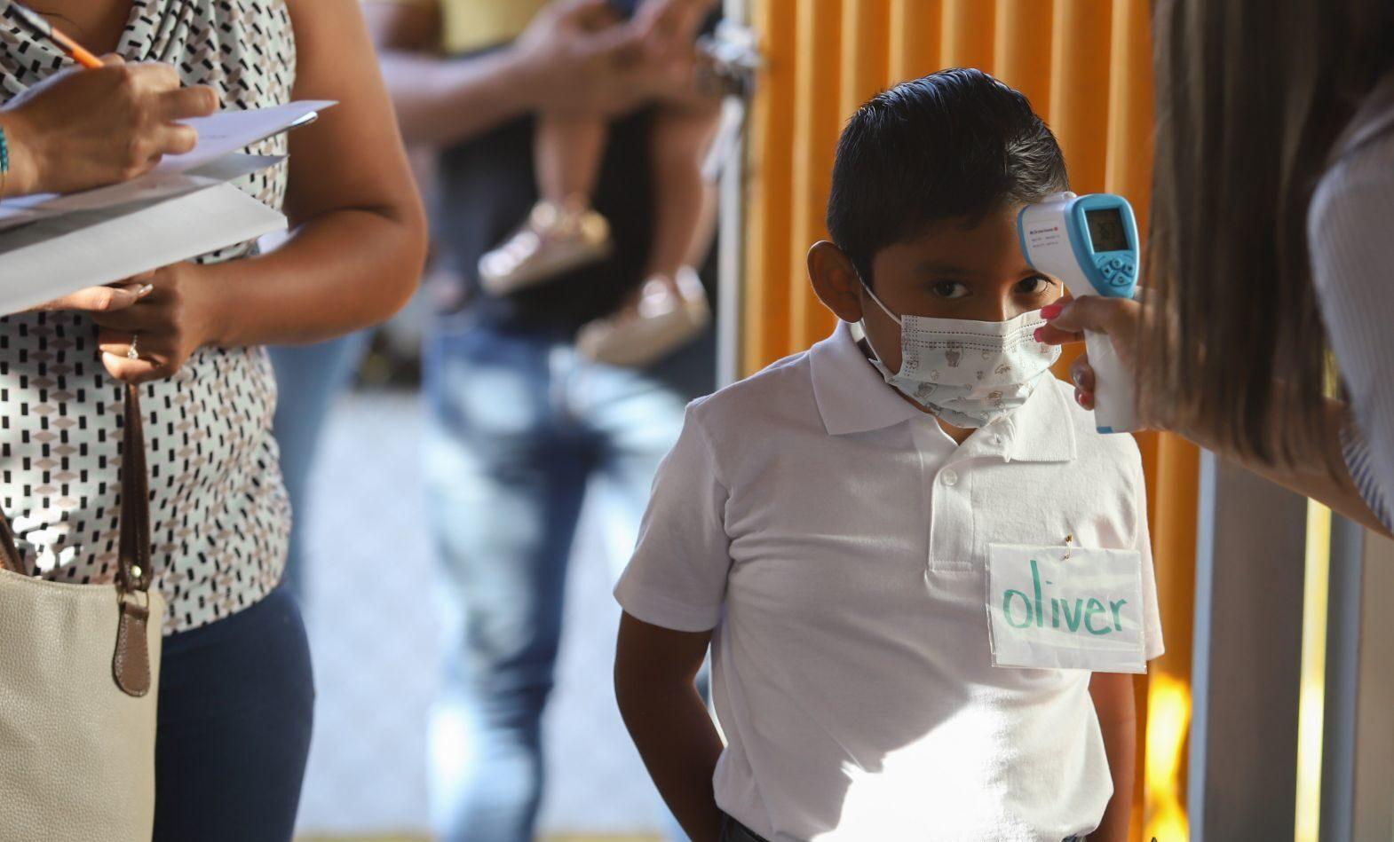 Coahuila: miles de niños regresan a clases presenciales en Coahuila