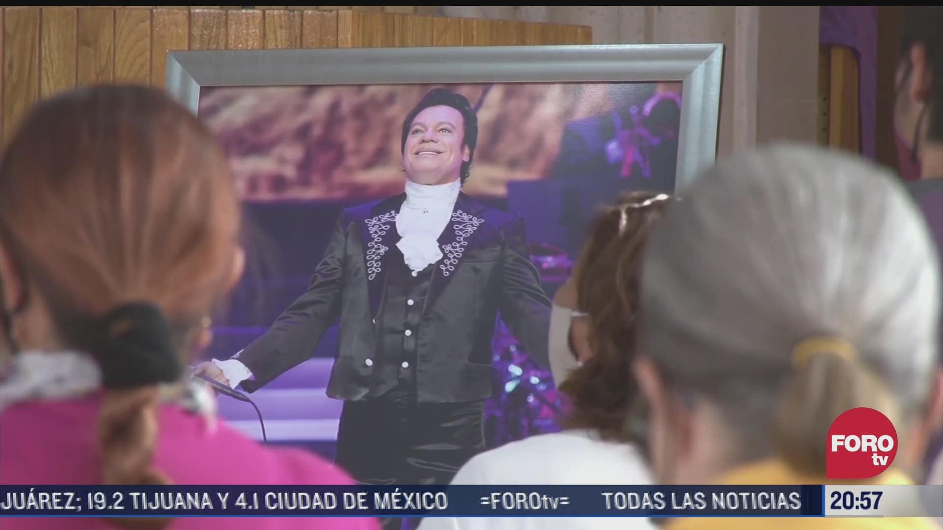 conmemoran aniversario luctuoso de juan gabriel en ciudad juarez