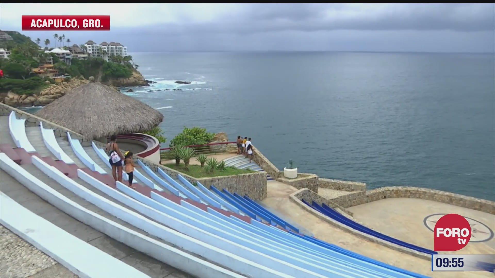 corredor turistico sinfonia del mar en acapulco guerrero