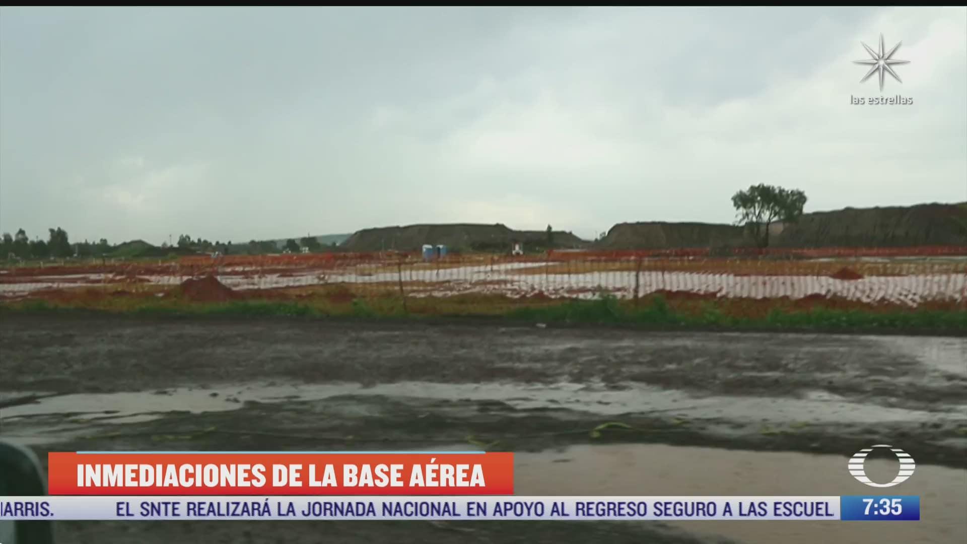 despierta visita zona donde se construye el aeropuerto felipe angeles en santa lucia