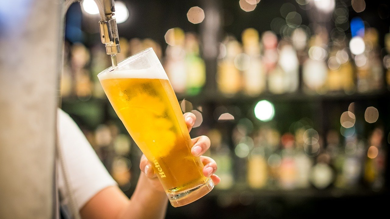 Día Internacional Cerveza Idea Foto
