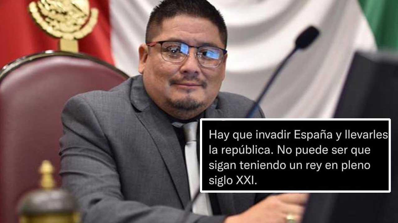 "Diputado de Morena propone irónicamente ""invadir"" España"