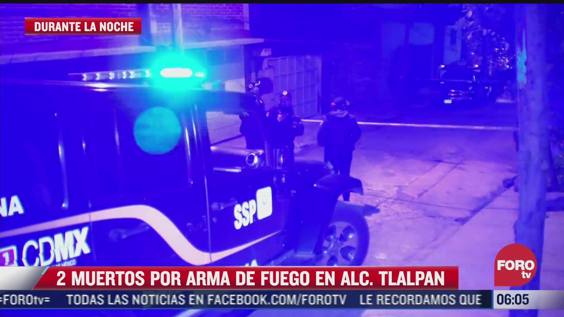 dos muertos y dos heridos por balaceras en calles de la alcaldia tlalpan cdmx