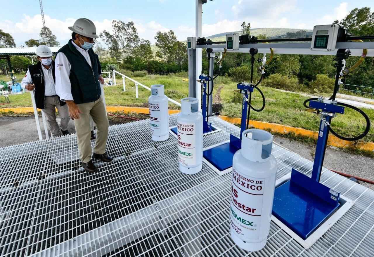 Pemex da a conocer cómo se son los tanques de Gas Bienestar