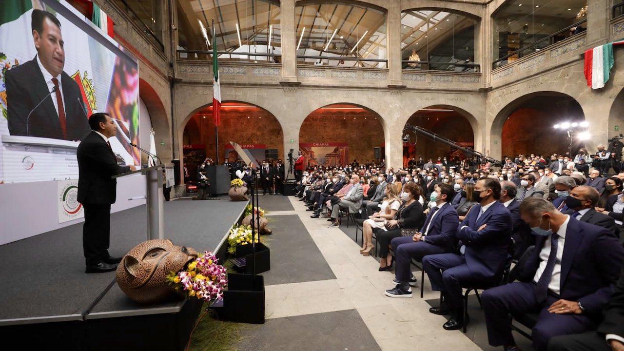 Eduardo Ramírez Informe Senado Foto