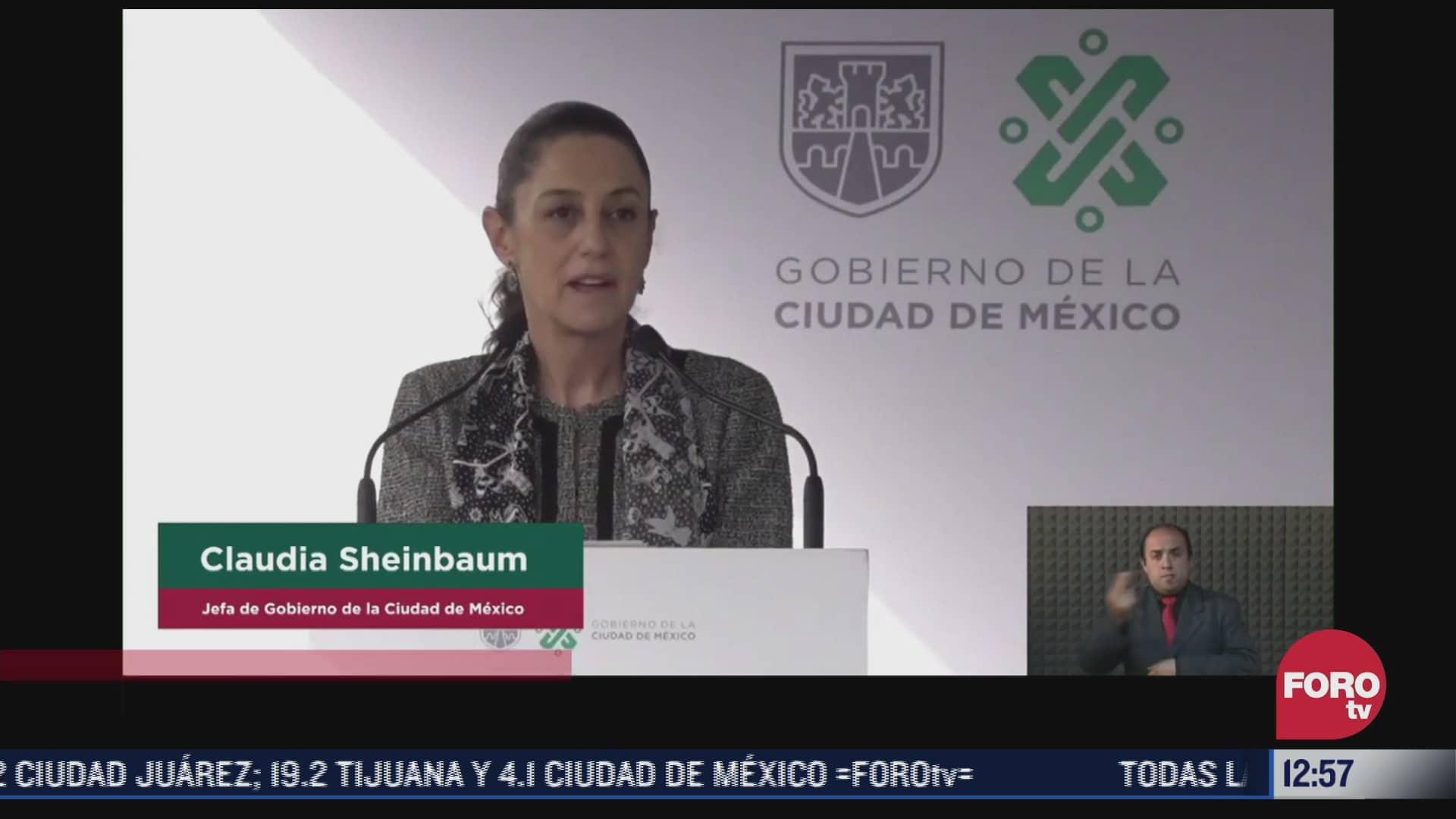 Encabeza Sheinbaum graduación en la Universidad de la Policía