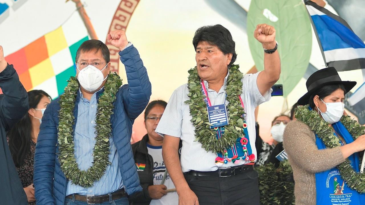 El expresidente de Bolivia, Evo Morales (EFE)