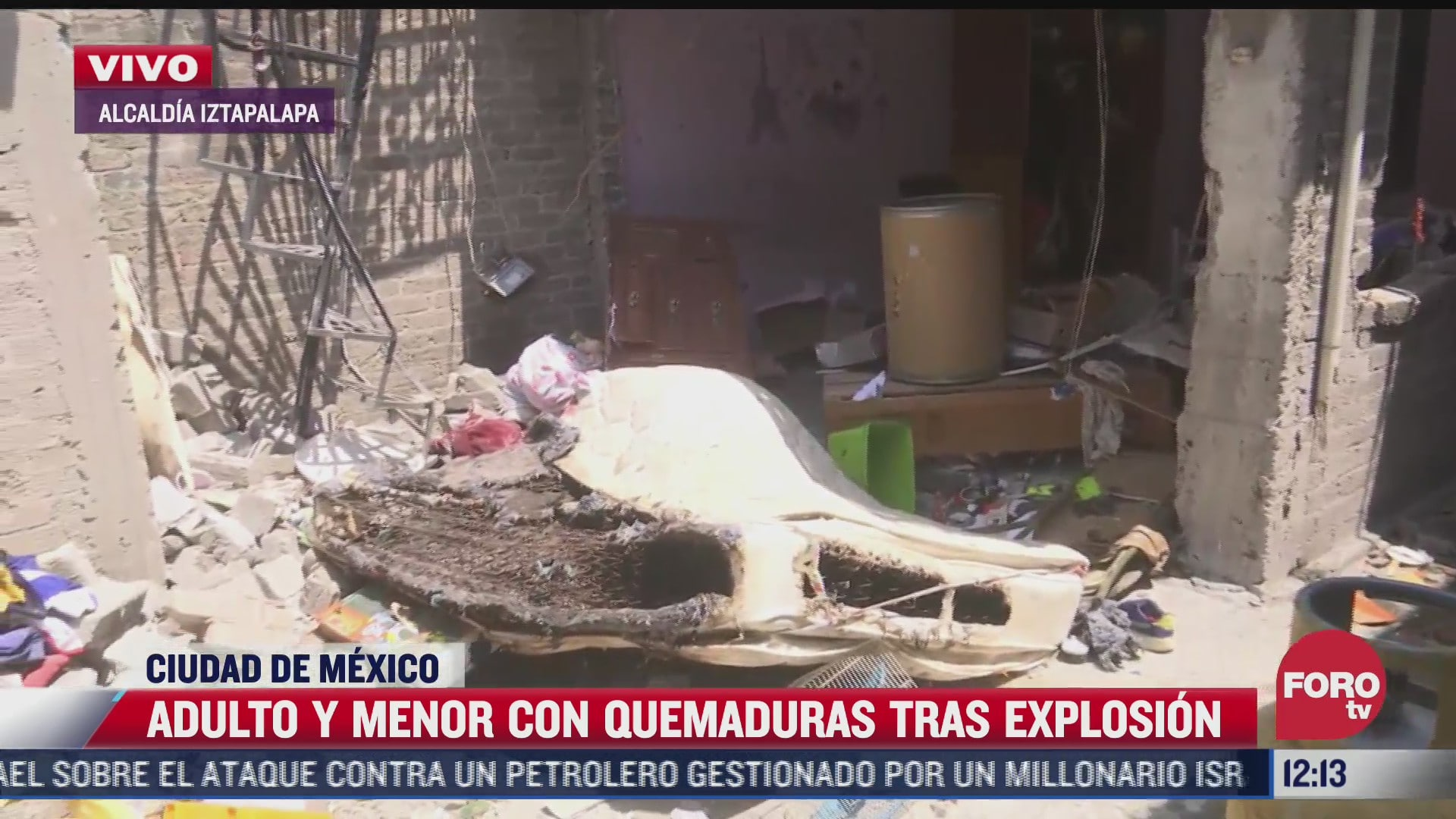 familia pierde todo tras explosion en domicilio de la alcaldia iztapalapa