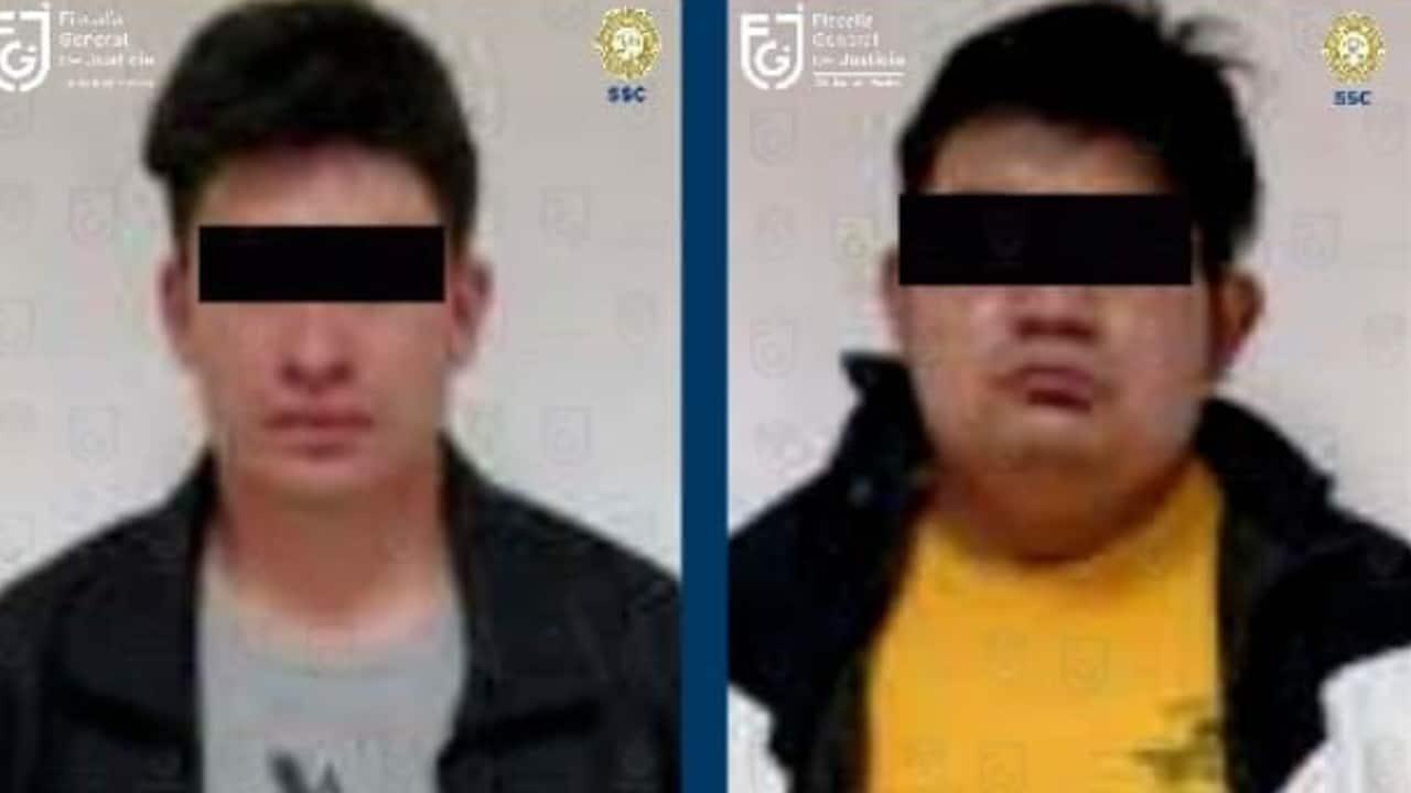 """Los presuntos responsables serían Luis y Rodrigo """"N"""", hermano y cuñado de la madre de la menor (Twitter: Fiscalía CDMX)"""