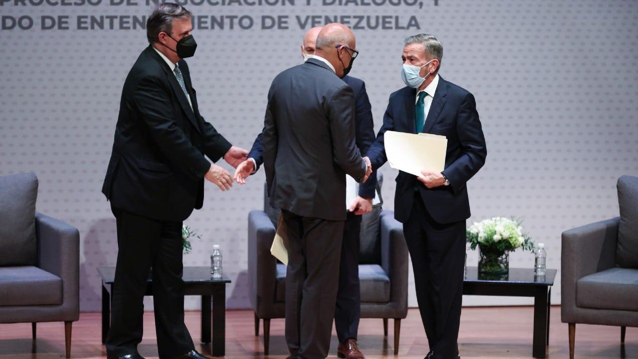 Venezuela retomará diálogo el 3 de septiembre tras reunión en México