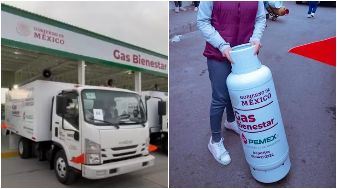 Gas Bienestar, Gas LP, distribuidor de gas, pemex, captura de pantalla