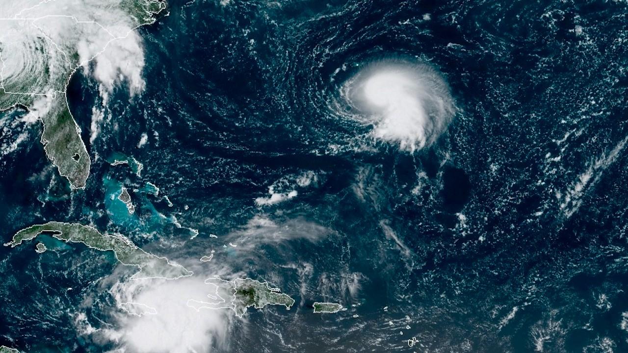 Grace avanza por el Caribe hacia la península de Yucatán (EFE)