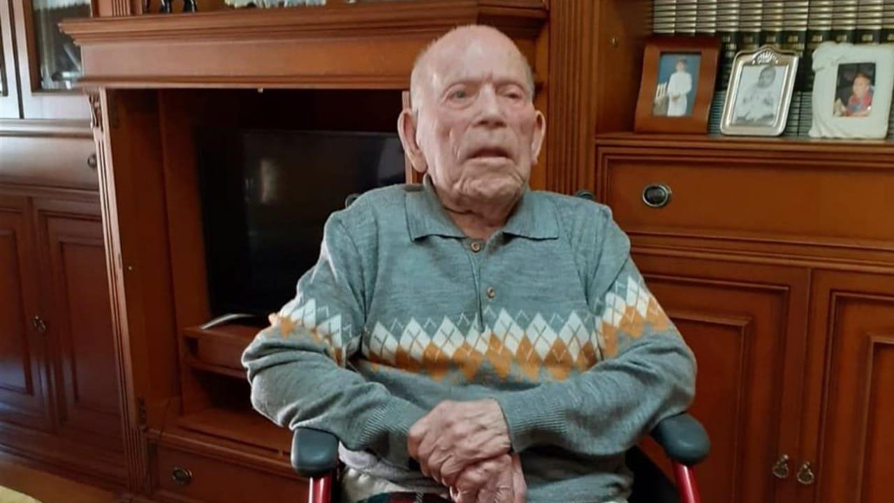 hombre más viejo del mundo EFE