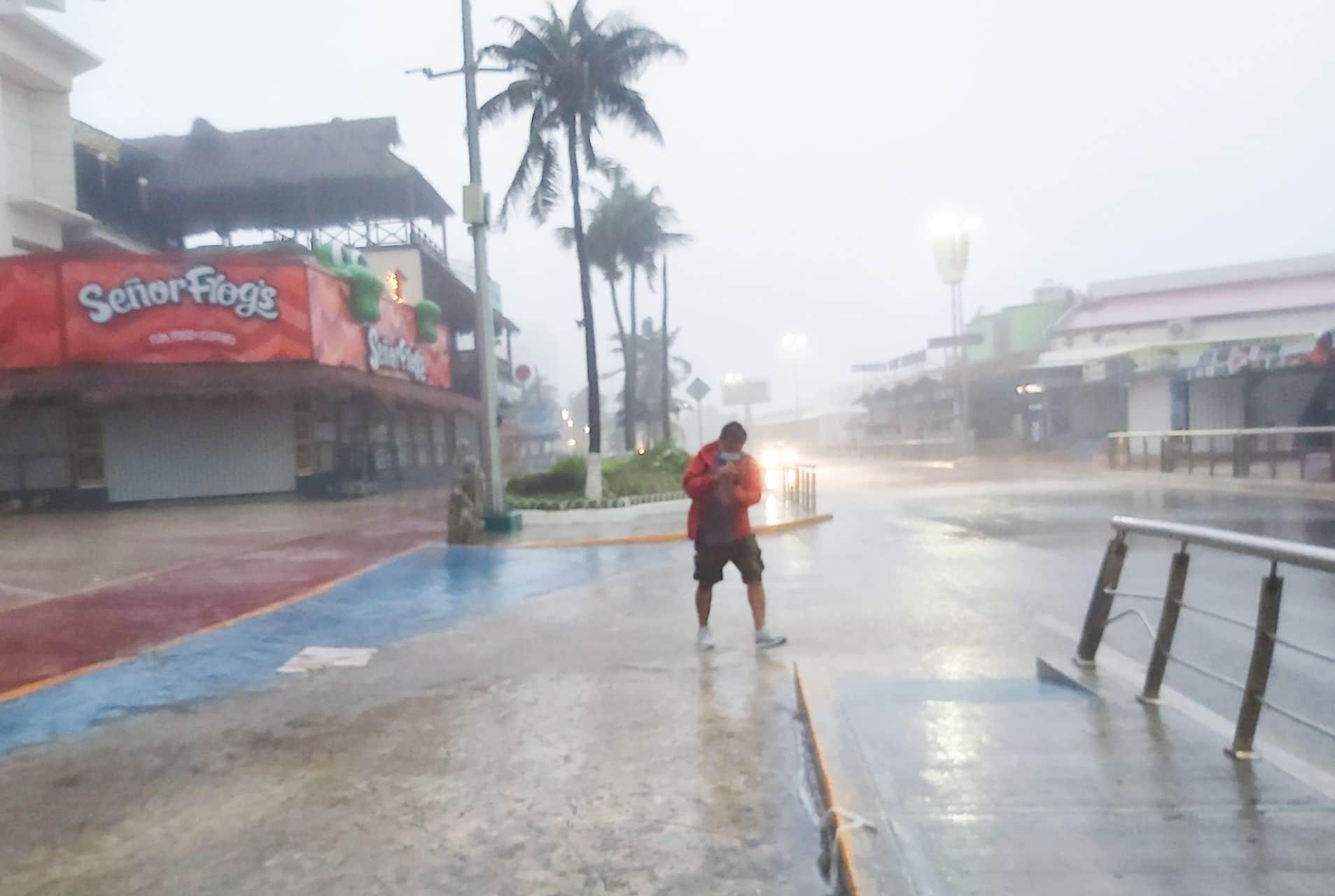 Huracán Grace tocará la Península de Yucatán y Veracruz durante su trayectoria en México
